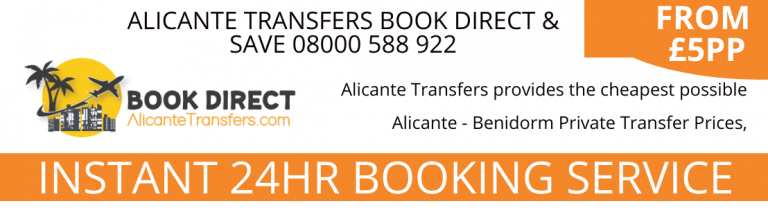 alicante transfers to benidorm shows