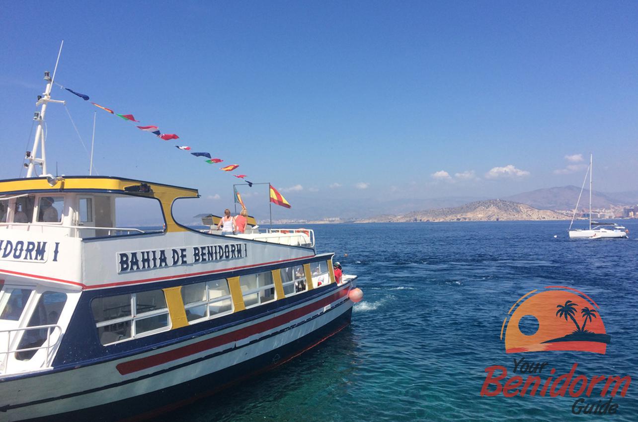 glass bottom boat trip benidorm