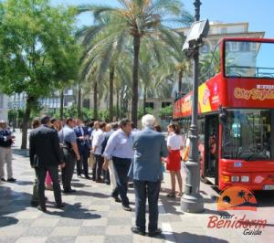 hop on hop off bus in benidorm