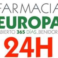 24 hour pharmacy benidorm